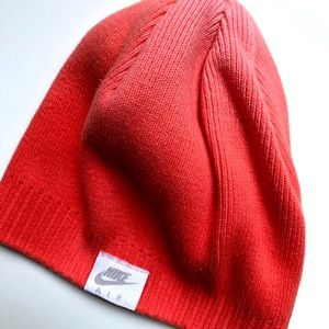 NWOT Nike Pink Hombre Knit Beanie Hat